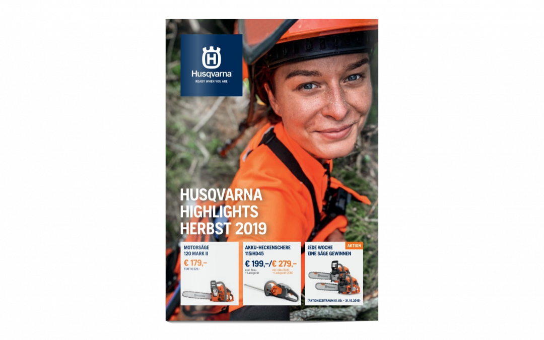 Husqvarna Herbstaktion